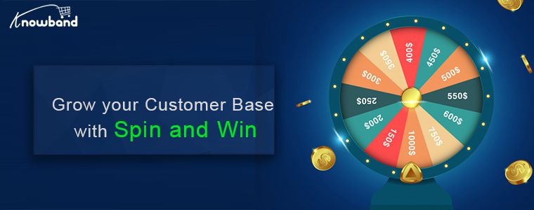 Click, Play and Win: Knowband Magento Spin and Win Extension