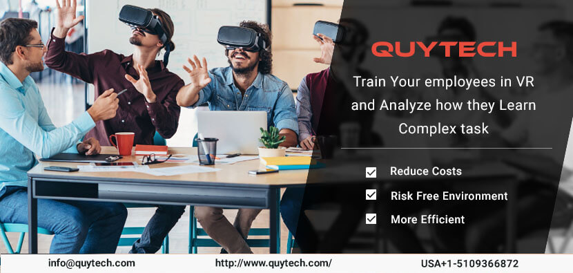 Virtual Reality Employee Training: company get benefited