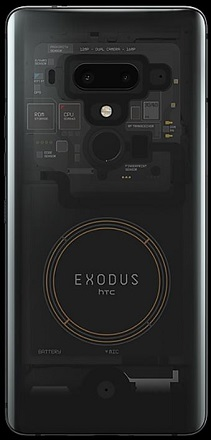 HTC Exodus 1: a smartphone with the blockchain in mind
