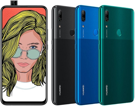 Huawei P Smart Z: 6.59-inch smartphone with 16MP pop-up selfie camera and 4000 mAh battery for $350