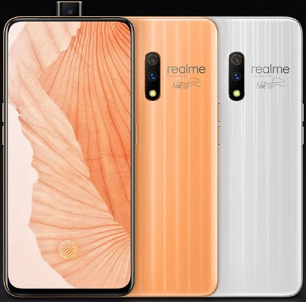 Realme X: $215 smartphone with 6.53-inch screen, dual 48MP-5MP primary camera, 16MP motorized pop-up selfie camera