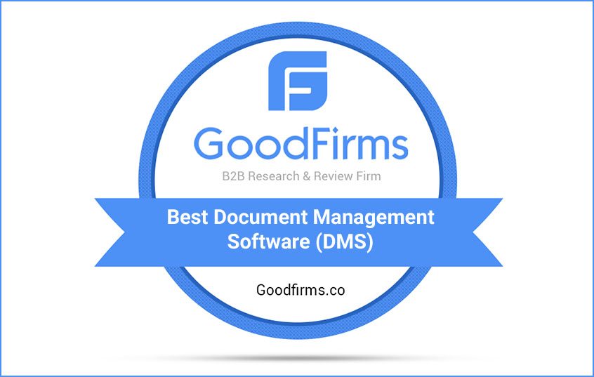 GoodFirms Announces the list of Best Document Management Solutions Providers for June 2019