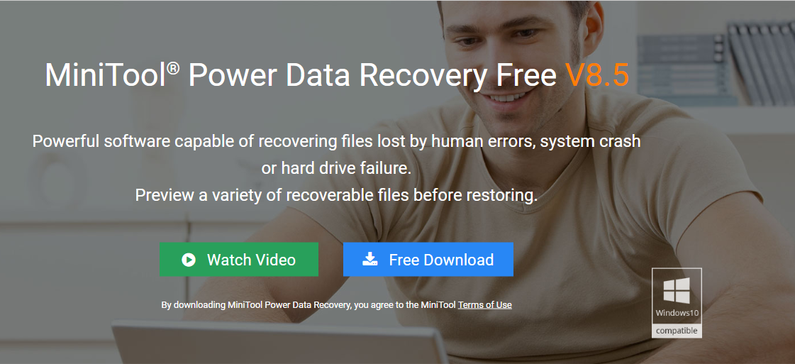 MiniTool Power Data Recovery 8 5 allows you to preview more