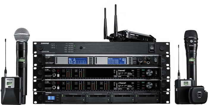 gearhouse broadcast scores world first access to new shure wireless microphone system whatech. Black Bedroom Furniture Sets. Home Design Ideas