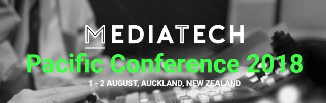 CBT826 Convergence rocks New Zealand at MediaTech Pacific 2018