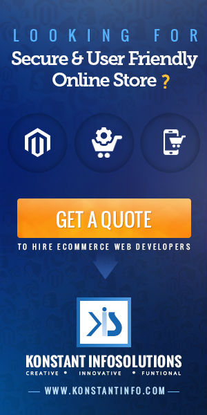 Konstant Infosolutions ecommerce development