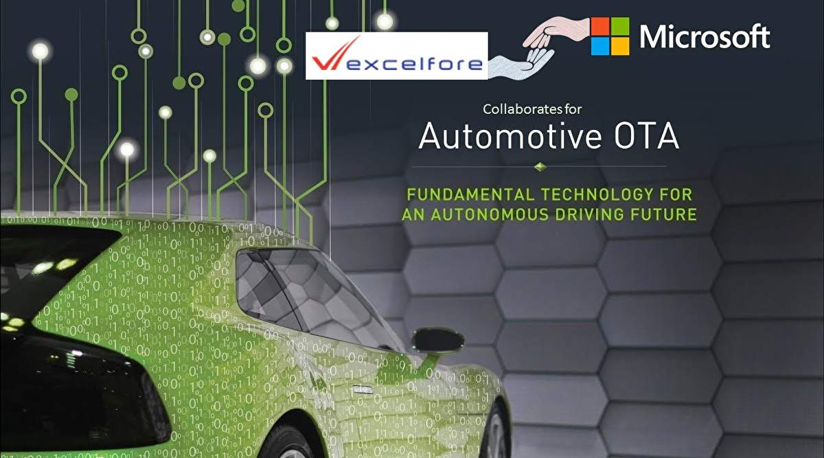 Excelfore and Microsoft Collaborate for Automotive OTA