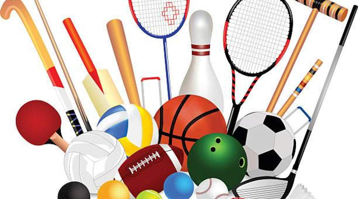 спортивный инвентарь веселые картинки