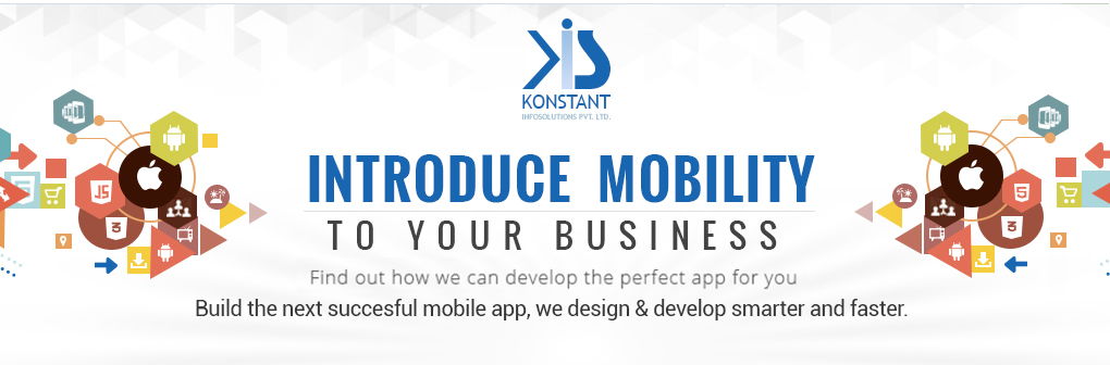 Konstant Infosolutions - Introduce Mobility to your business