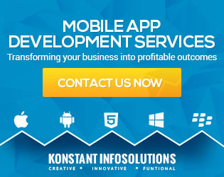 Konstant Infosolutions - Mobile App Development Services