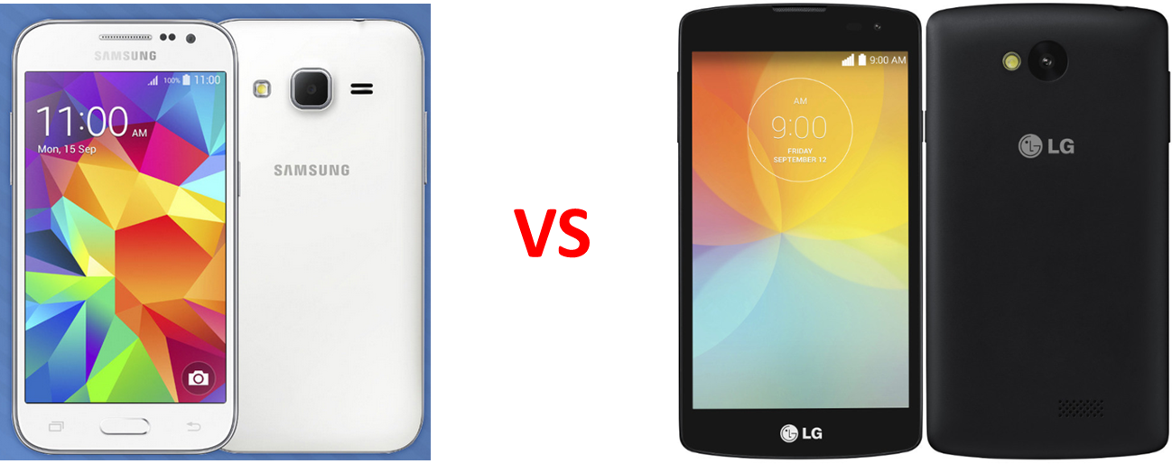 samsung galaxy core prime vs lg f60