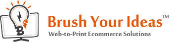Brush Your Ideas - Web to Print Solution