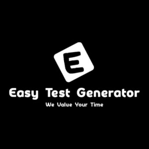 Easy Test Generator - Online Question Paper Maker