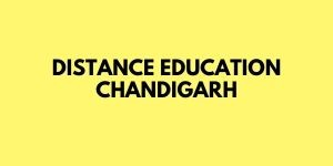 Distance Education Chandigarh