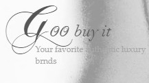 Goo Buy It- pre-owned high-end designer goods