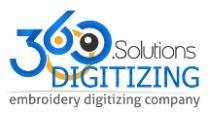 360 Digitizing - Vector Art Conversion Services