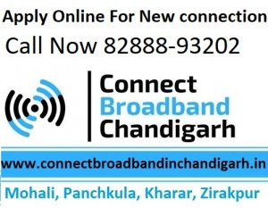 Connect broadband FTTH fiber plans Chandigarh Mohali