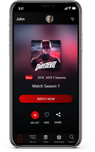 Netflix Clone App - Video streaming script for Android & iOS