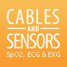 Cables and Sensors - SpO2 Sensors, ECG, EKG, NIBP