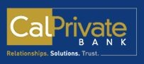 CalPrivate Bank - Financial Institution